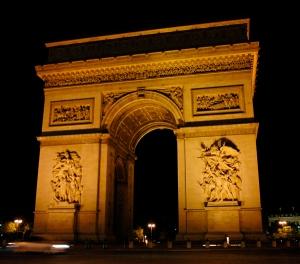Arc de Triomphe Paris by Sandy Hibbard Wright