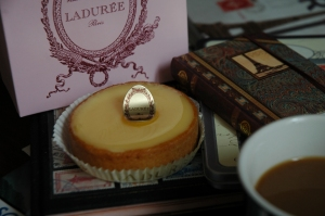 Lemon Tart from Laduree in Paris