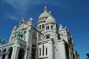 Sacre Coeur in Paris Montmarte