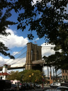 Brooklyn Bridge by Sandy Hibbard