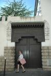 Judith at the Grand Mosquee de Paris