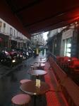 The Cafe Conti around the corner