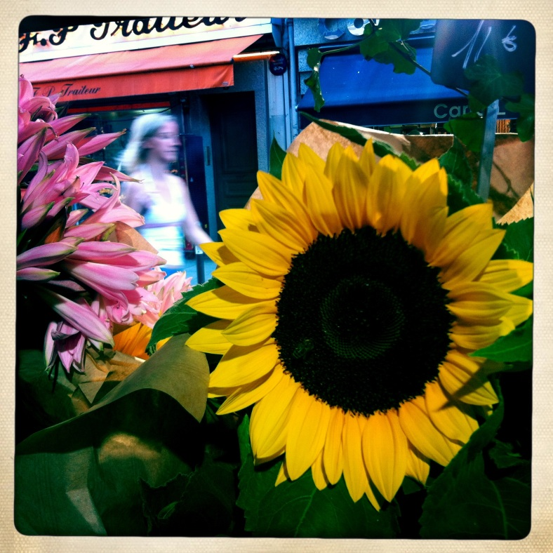 Good morning Paris! Sunflowers