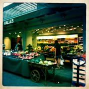 Our neighborhood market in the Latin Quarter