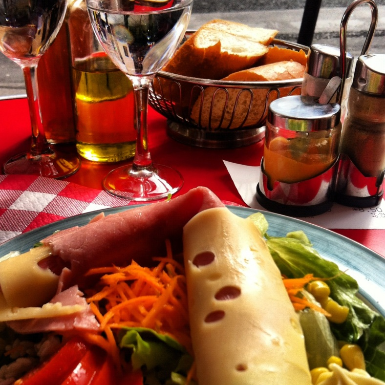 The Parisian Club Salad