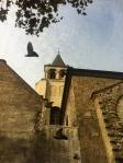 The oldest church in Paris St-Germain-des-Pres