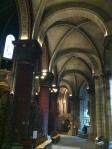 the sanctuary in the oldest church in Paris St-Germain-des-Pres