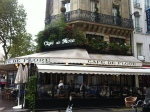 our favorite place in Germain St des Pres area - the infamous Cafe Le Fleur