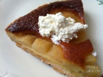 The Pear Tart from our favorite place in Germain St des Pres area - the infamous Cafe Le Fleur