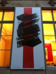 discovered art along the Boulevard St. Germain des Pres