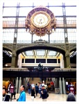 The clock at the Musee d'Orsay