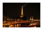 The Eiffel Tower on the River Seine in Paris