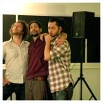 The Wyldz in rehearsal