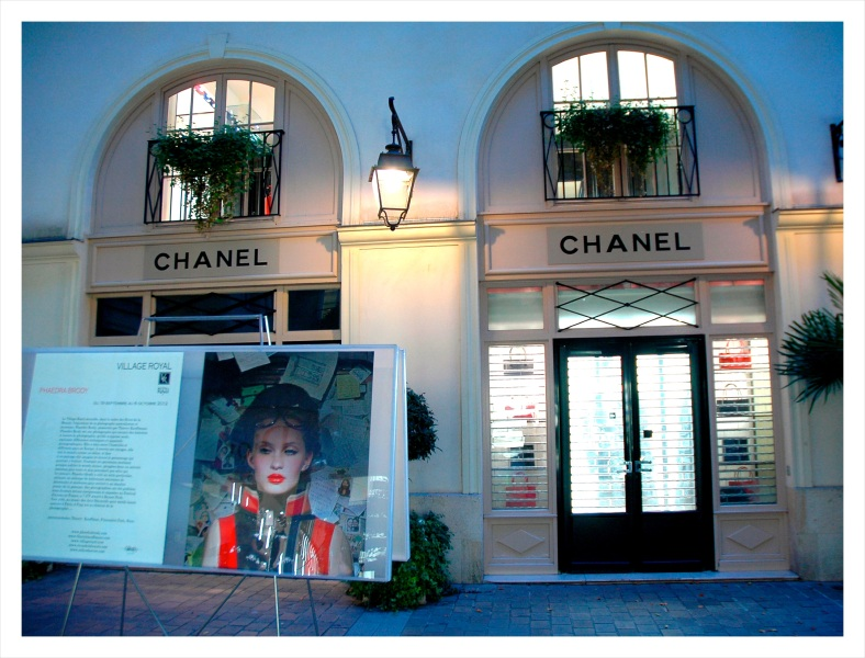 Chanel at night