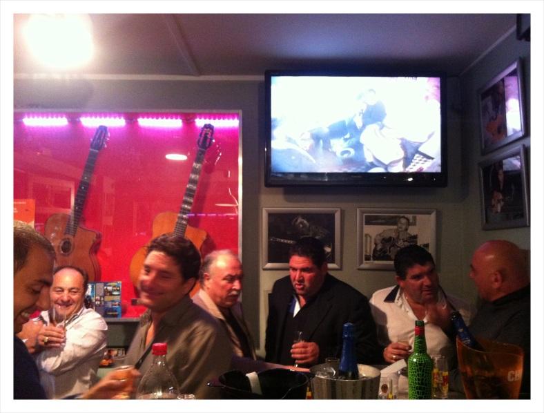 Revelers at Espace Django Reinhardt in Paris