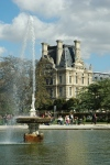The Tuileries in Paris just west of the Louvre
