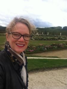 enjoying a cold and rainy day at Versailles - beautiful!