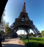 The Eiffel Tower with the iPhone app Photosynth