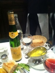 Wonderful food and wine at Brasserie Lipp in Germain St de Pres
