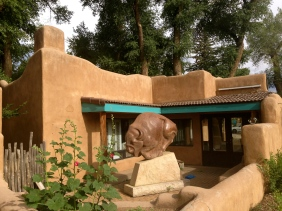 art in the town of Taos New Mexico