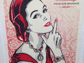 message from our sponsor by Shepard Fairey